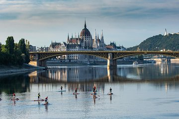 Sunrise SUP to the heart of Budapest
