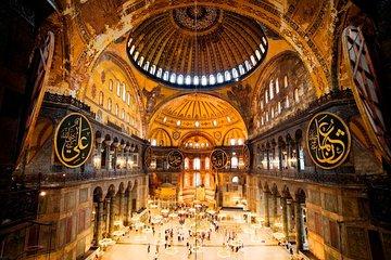 Paleis Naast Aya Sofia.Dagtour Istanboel Met Kleine Groep Inclusief Het Topkapipaleis En De Hagia Sophia
