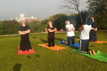 Overnight Delhi Agra Tour and Sunrise view of Taj With Yoga