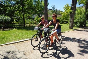 Private Madrid city bike tour
