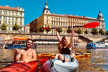 Kayaking tour in the city center