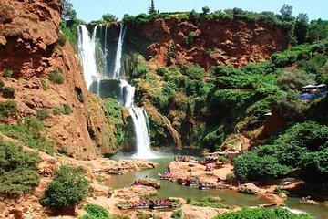 從馬拉喀什到Ouzoud瀑布私人之旅