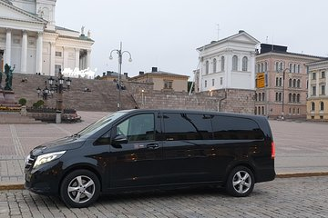 Private sightseeing tour around Helsinki by VIP car for 1-6 pax.