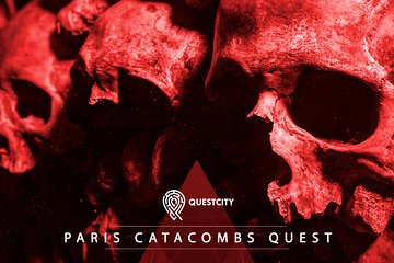 巴黎地下墓穴探索5人 - 移動應用程序與Questcity之旅