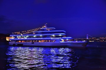 Bosphorus Dinner Cruise in Istanbul with Belly Dancing and Hotel Transfer