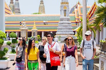 Grand Palace, Wat Pho and Chao Phraya Canal Cruise Small-Group Tour