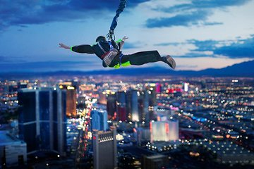 SkyJump Las Vegas at The STRAT Tower Ticket