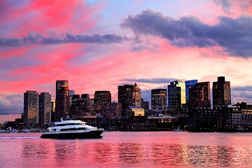 Boston Harbor Sunset Sightseeing Cruise
