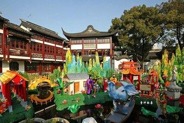 Parco del popolo di Shanghai che risale