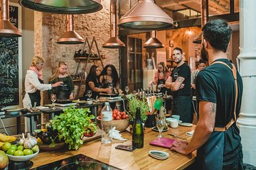 Paella Cooking Experience with Professional Chef and Bottomless Wine