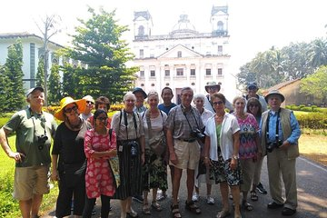 Panjim Heritage walk with professional guide and option of pickup and drop