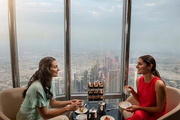 Burj Khalifa: At the Top Entrance with Lunch or Dinner at Rooftop, The Burj Club
