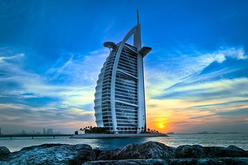 Dubai City highlights with Evening Creek Dhow Cruise dinner Combo