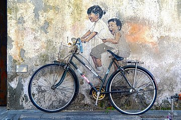 Street Arts of George Town from Penang