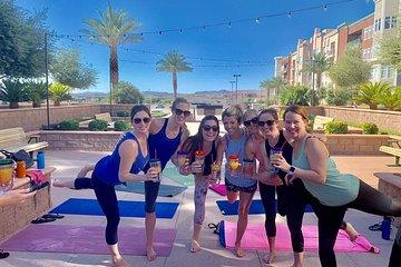 Yoga Uncorked in Southwest Las Vegas