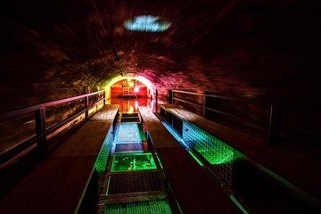 Floating in Prague underground