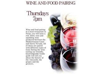 Wine and food pairing in Nerja