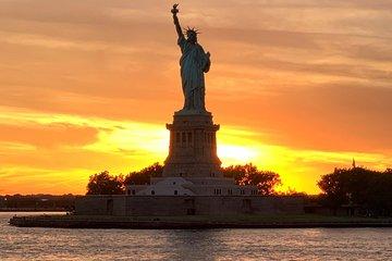Statue of Liberty Sunset Sightseeing Cruise & New York City Sky Line Pier 36