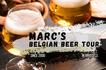 Marc's Belgian beer tour in Brussels