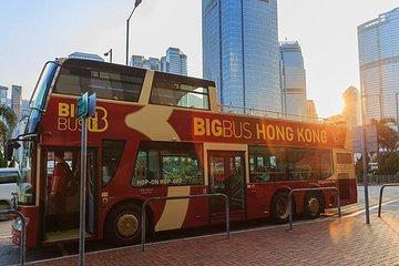 Skip-the-Line: 1-Day Hong Kong Big Bus + Peak Tram + Sky Terrace VIP Pass