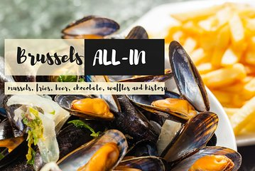 Brussels all-in discovery tour: beer, waffles, mussels and chocolates Tickets