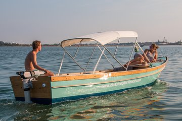 Self-Drive Electric Boat Rental by Classic Boats Venice