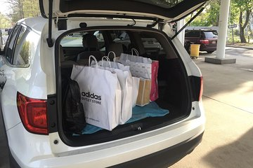 Custom Private Shopping Tours With Suv Car