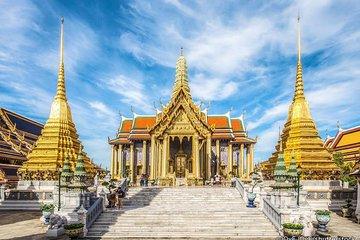 Morgen på Bangkok Grand Palace og Wat...