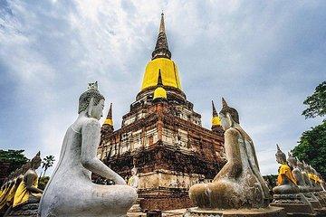 Alte Stadt von Ayutthaya-Ufer-Exkursion