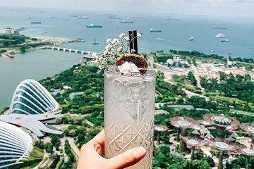 Singapore Nightlife at Rooftop Bars Around Marina Bay