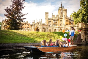 Private Punting Tour in Cambridge