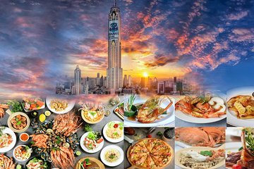Lunch/Dinner @ Baiyoke Sky Hotel with Observation Deck Tickets