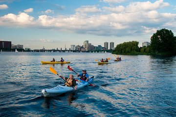 Boston Sunset Kayak Tours from Kendall Square