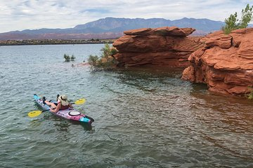 Kayaking and Hiking Day Trip from Las Vegas to Sand Hollow and Snow Canyon, Utah