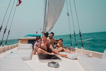 Hol Chan Marine Reserve Snorkel and Caye Caulker Tour 40' Sirena Azul Sailboat