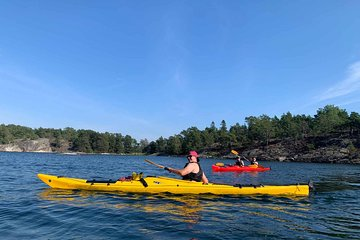 Guided Kayak Tour in Stockholm Archipelago