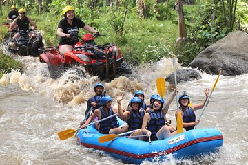 Full-Day Bali Adventure Tour with Quad Bikes and Rafting Tickets