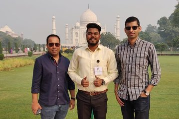 For Delhi - Sunrise Taj Mahal tour by car with cooking class