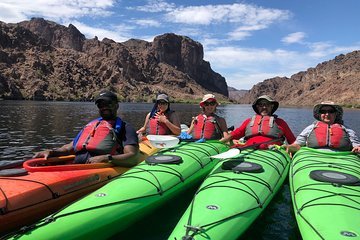 Half-Day Kayak Tour in the Black Canyon from Las Vegas