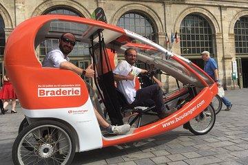 Tourist visit in vélotaxi