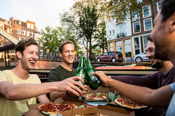 Best Pizza Cruise Amsterdam City Tour
