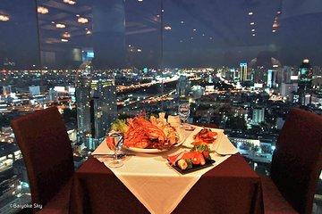 Dinner on Baiyoke 82nd Floor (Sky Grilled & Seafood Buffet) - Bangkok