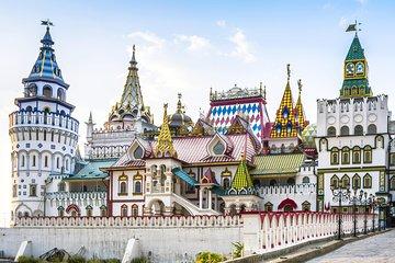 Moscow: Metro and Izmailovo Market Private Tour