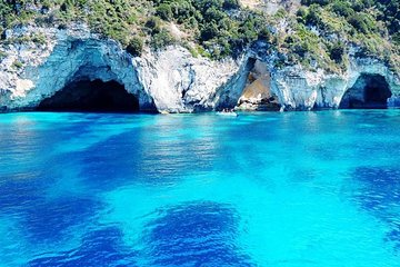 Royalty Cruise from Corfu Island to Paxoi, Antipaxoi & Blue Caves