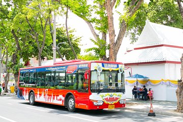 Bangkok Hop-On-Hop-Off Bus With Giants City Tour
