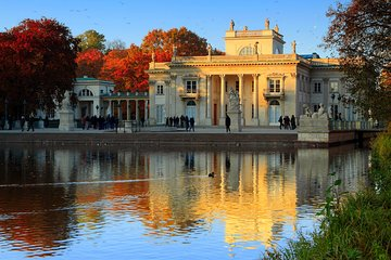 Warsaw: Lazienki Krolewskie & Lazienki Palace Private Tour with cruise