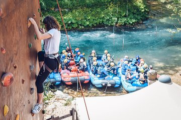 Rafting on the Aniene river