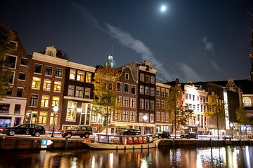 Luxury Evening Tour with Bar & Live Guide - Departure Anne Frank House