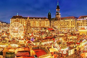 DRESDEN Christmas Market 10 hrs by Skoda Superb or luxury minivan MB V/Sprinter