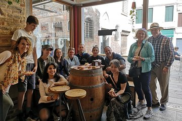 Venice Street Food Tour with a Native & Top Rated Expert